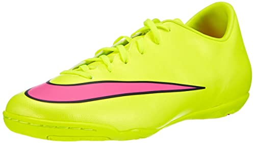 detailed pictures 435a9 6963b Nike Mercurial Victory V IC, Scarpe da Calcetto Uomo, Giallo (VoltHyper  Pink-Black 760), 45 EU Amazon.it Scarpe e borse