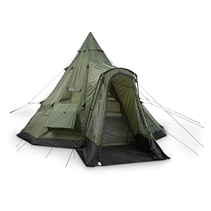 Guide Gear Deluxe Teepee Tent 14u0027 x ...  sc 1 st  Amazon.com : tipi tent with stove - memphite.com
