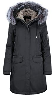 G516 Damen Wintermantel in Daunen Optik SNOWIMAGE mit