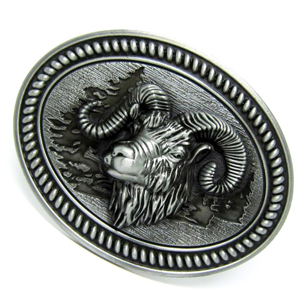 New Indian Belt Buckle Native America Rodeo Western 3d Silver Oval Best Quality