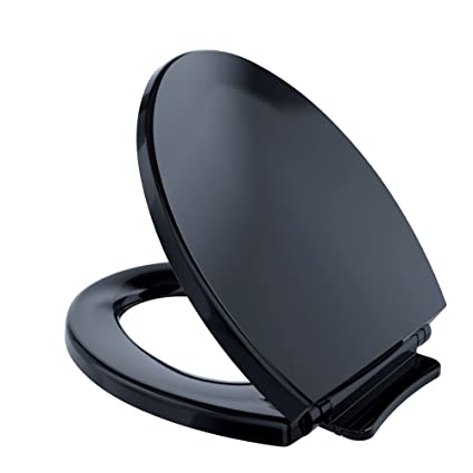 TOTO SS113#51 Transitional SoftClose Round Toilet Seat, Ebony