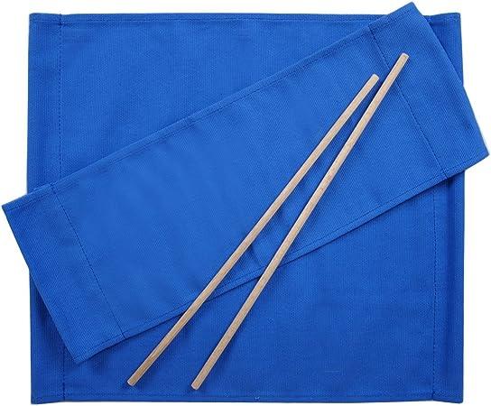 ArredaSì Ricambi per Sedia Regista [Set di 2] Cotone Blu