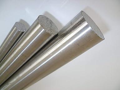 B/&T Metall Edelstahl Rund Drm /Ø 6 mm 1.4305 blank gezogen h9-3 St/ück /à 995 mm 3 Meter Stange geteilt