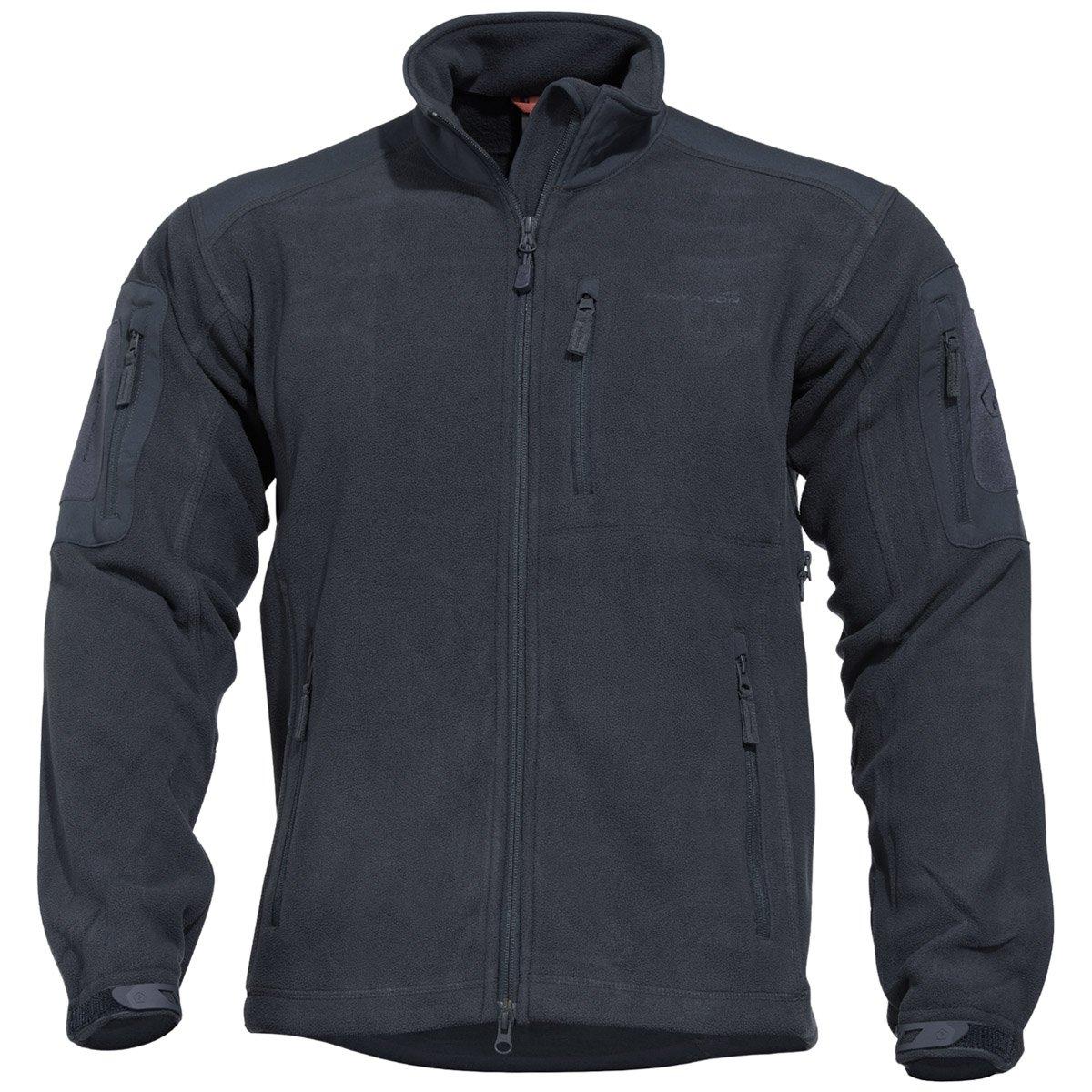 L Pentagon Herren Perseus Fleece Jacke 2.0 Mitternachtsblau