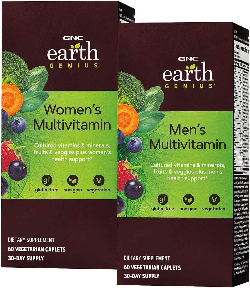 GNC Earth Genius Women's & Men's Multivitamin