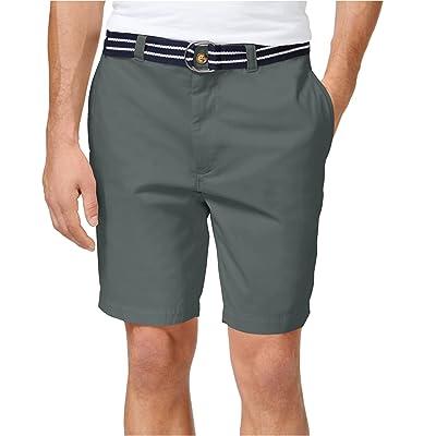 Gocgt Men Summer Short Casual Beach Shorts Pants Flat Front Shorts
