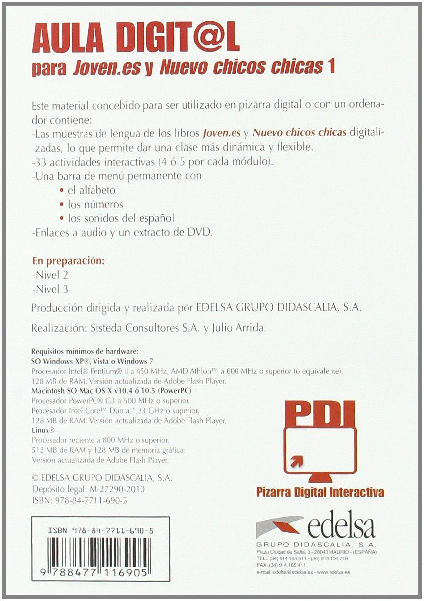 Aula digital 1 (A1) - Joven.es Nuevo Chicos chicas (Spanish ...