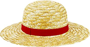 Rubber Abysse Corp Italy Cappello di Paglia One Piece RUFY High Quality Straw Hat Manga Anime