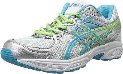 Asics Gel-Contend 2 Zapatilla de Running de la Mujer, Blanco (White/Turquoise/Sharp Green), 38: Amazon.es: Zapatos y complementos
