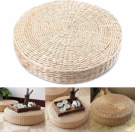 Amazon.com: UKSAT Tatami Floor Pillow Sitting Cushion,Straw ...