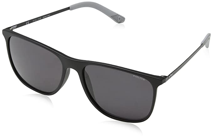 Police Edge 5 Gafas de sol, Negro (Rubberized Black), 57 ...