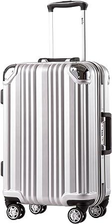 Coolife Stylish Long-lasting Zipper-less Luggage