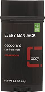 product image for Every Man Jack Every Man Jack Deodorant Stick Aluminum Free Cedarwood, 3 Oz, 3 Ounce