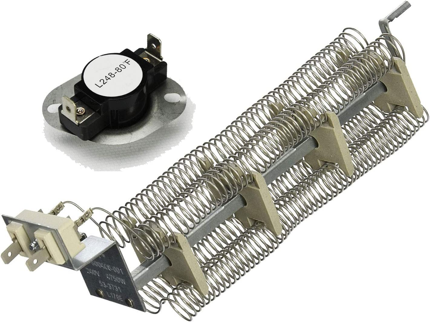 Dryer Heating Element and Thermostat that work with Admiral LNC7764A71