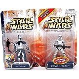 Star Wars Clone Wars Value Pack With Bonus Figure ARC Trooper & Clone Trooper