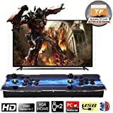SeeKool 3D Pandora X Arcade Game Console, 1920x1080 Full HD 4 Players Max Arcade Machine with 2200 Retro Games, Support extended TF Card& USB Disk to enjoy more Games, for PC / Laptop / TV / PS4