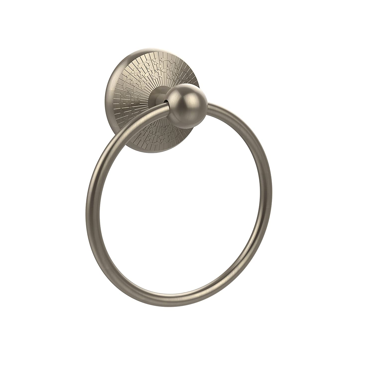 Antique Pewter Allied Brass PMC-16-PEW Prestige Monte Carlo Collection Towel Ring
