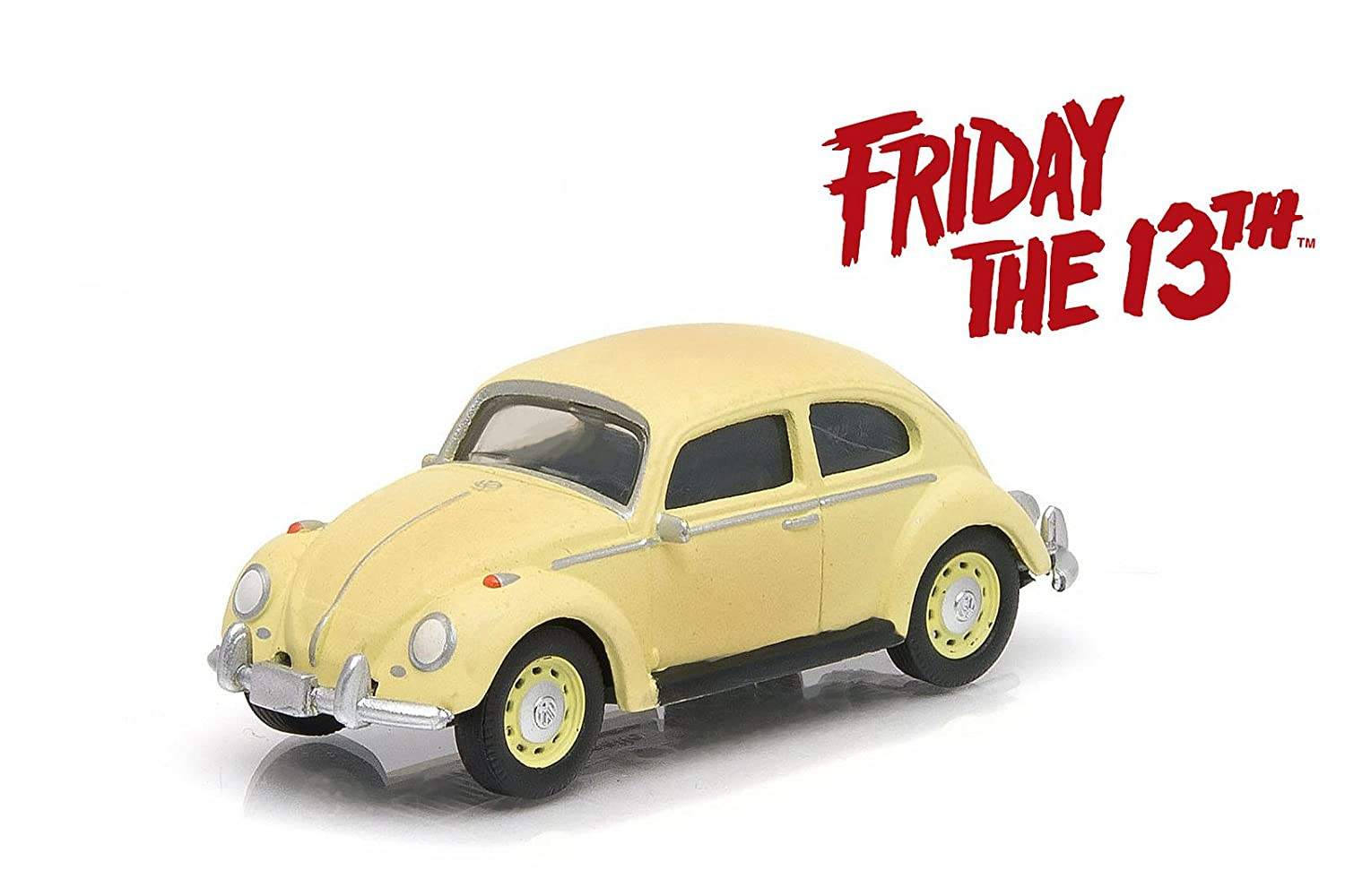 1963 Volkswagen Beetle Friday The 13th Part III 1982 Movie Hollywood Series 9 1 64 by Greenlight 44690 D