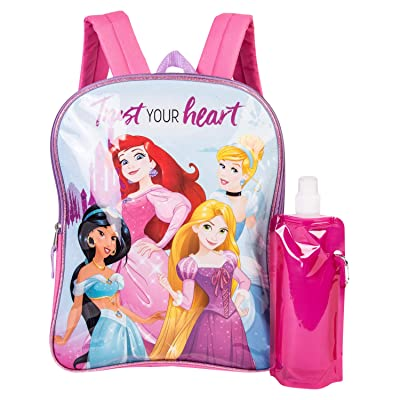 Disney's Princess Backpack Combo Set - Girls' 3 Piece Princess Backpack Set | Kids' Backpacks