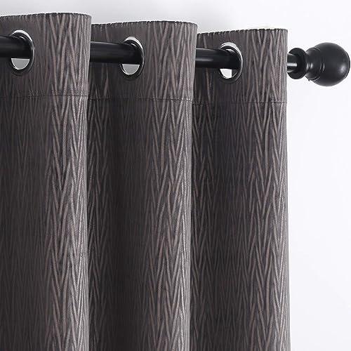 SMILETIME Grey Velvet Curtain