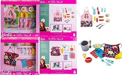 The Pioneer Woman Barbie Spaghetti Accessory Kit New