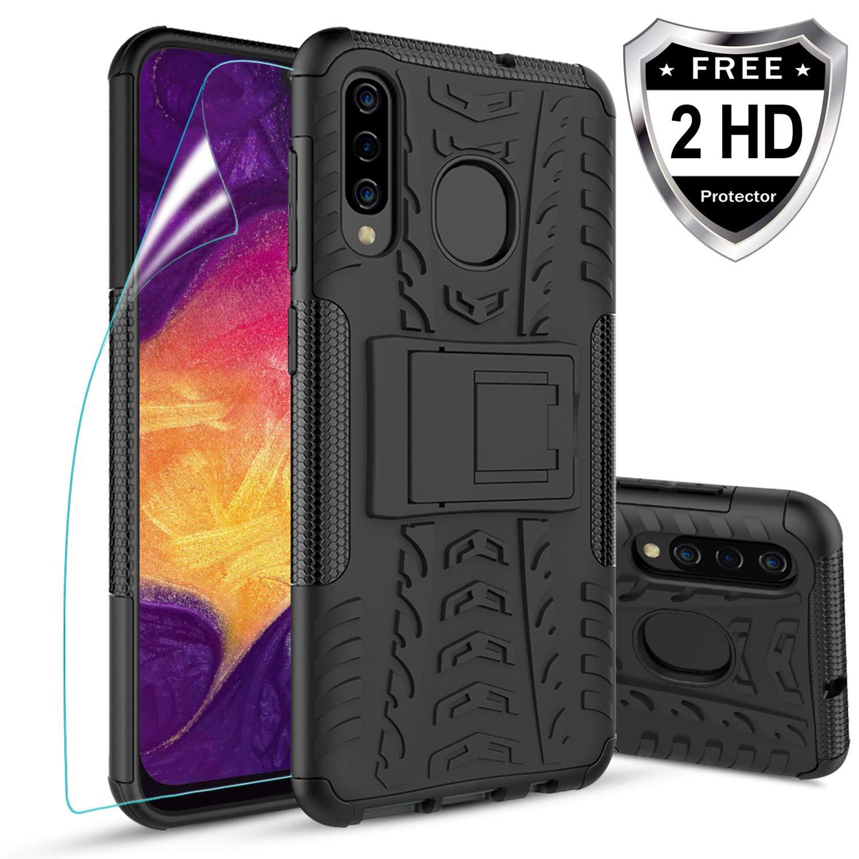 Funda + Vidrio Para Samsung Galaxy A20 / A30 / A50 Con Pie Meker [7s2w83hj]