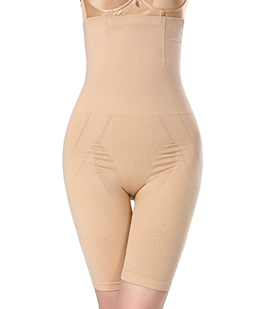 8ad6ea464e AGROSTE Women Shapewear Invisable Strapless Body Shaper High Waist ...