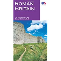 Historical  Roman Britain (Historical Map Guide)