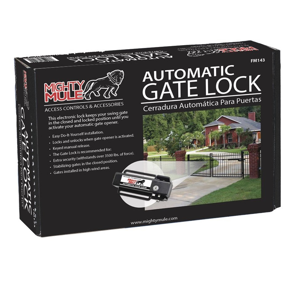 Automatic Gate Lock Fm143 For Mighty Mule Garage Door Opener Remote Circuit Board Bottom This A Shot Openers Home Improvement
