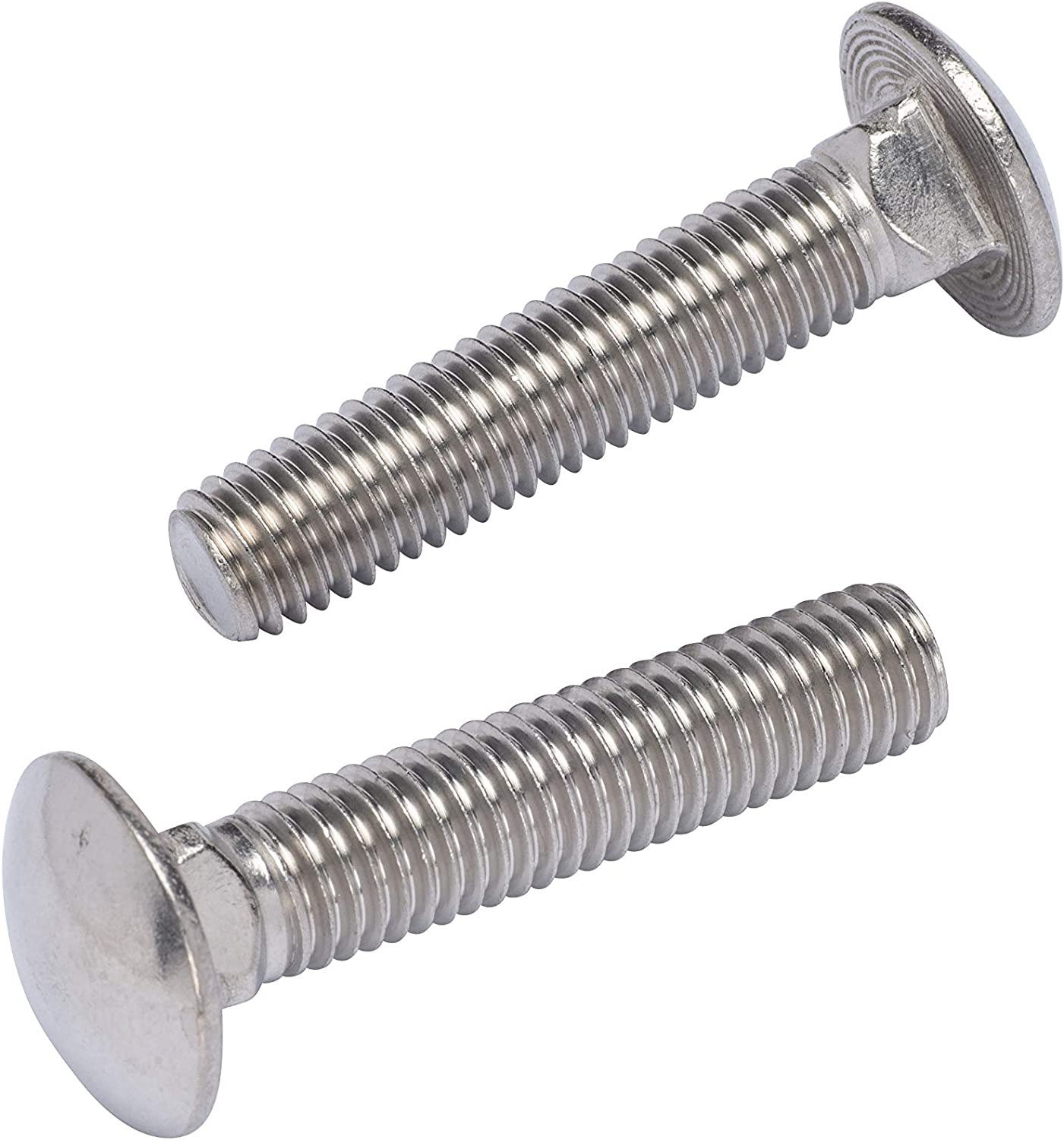 1//2-13 x 1-1//4 Stainless Steel Carriage Bolts Grade 18-8 Qty 50