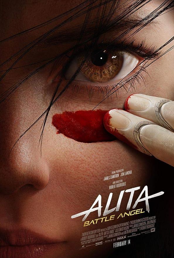Movie Alita Battle Angel Room Art Poster Print 24 X 14 inches