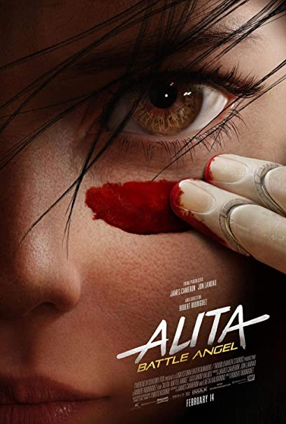 Image result for Alita Battle Angel poster