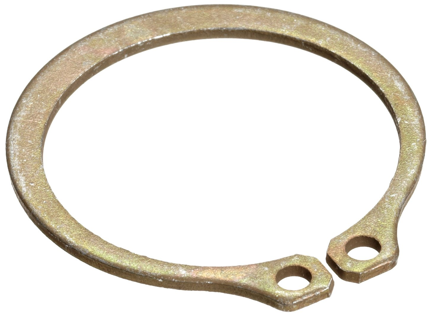 Rotor Clip SH-225ST ZD 2.25 in. Diameter Basic External Ring, Carbon Steel Zinc Dichromate Yellow, Pack - 5 Pieces
