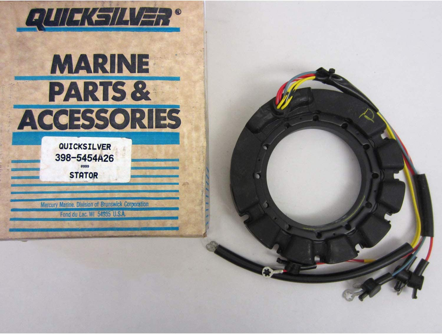 832075A21 STATOR Fits MERCURY FORCE OUTBOARD 832075A 4 MARINER 398-832075A 4