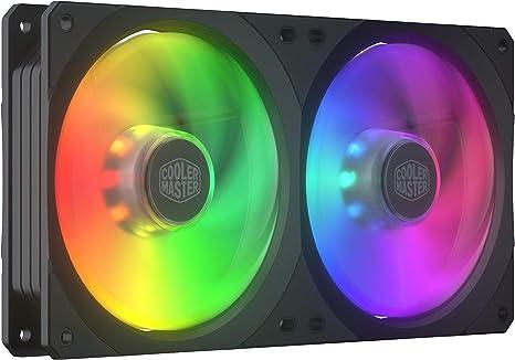 Cooler Master Masterfan SF240R ARGB, Ventilador PWM RGB ...
