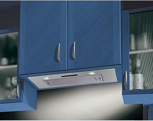 Campana extractora Cookology BUCH750SS de 75 cm para instalar bajo el armario de pared de la cocina: Amazon.es: Grandes electrodomésticos