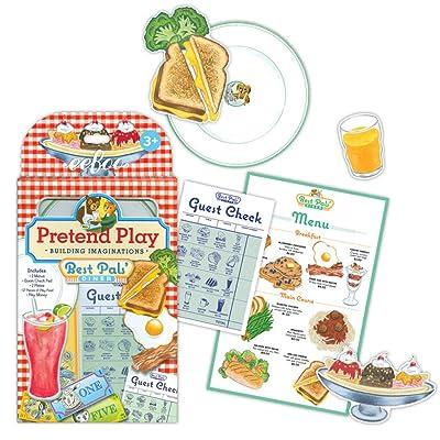 eeBoo Pretend Play Best Pals' Diner Restaurant Playset: Toys & Games