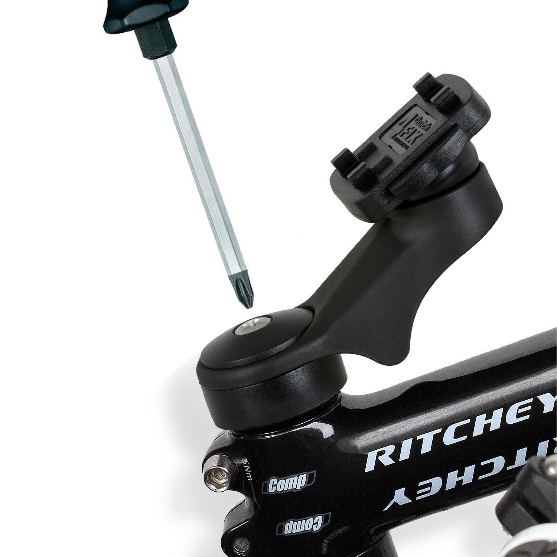wiederverschlie/ßbare Kabelbinder, Schnellverschluss, Made in Germany schwarz Wicked Chili RainCase 3.0 Fahrrad Bike Ersatz Lenker//Vorbau Halterung Slim