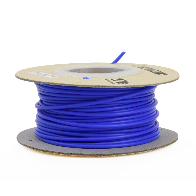 2.85mm Blue Gizmo Dorks ABS Filament for 3D Printers 3mm 200g