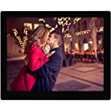 15.4 inch HD Digital Picture Frame - 1080p High Definition Electronic Photo & Video with 16GB Memory, Motion Sensor, Built-in Speakers & Remote Control - (Black)