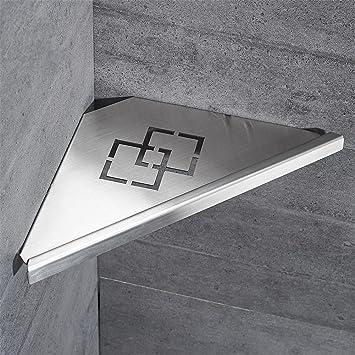 Badezimmer Regale Gebürstetem Nickel Edelstahl 304 Wand Bad Regal Dusche  Caddy Rack Bad Zubehör Regale ,