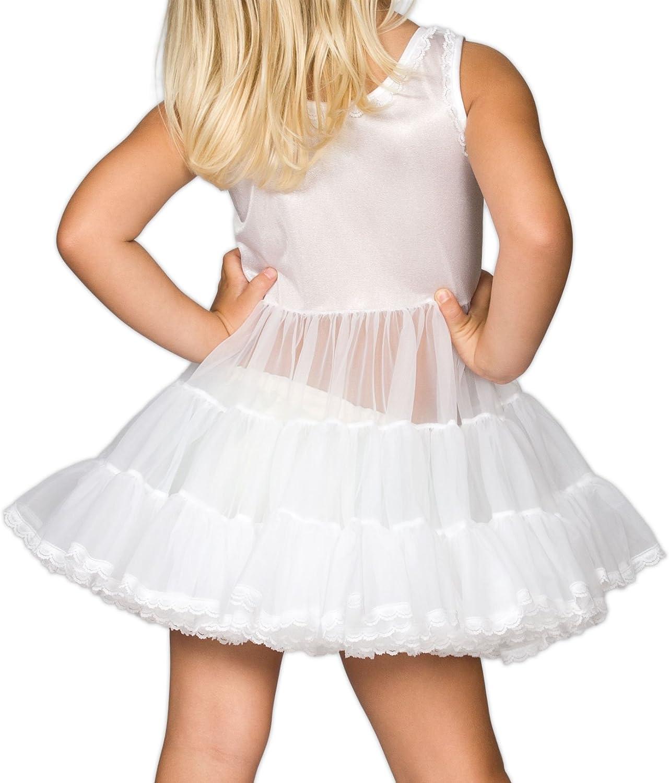 24m I.C 6m Collections Baby Girls White Bouffant Slip Petticoat