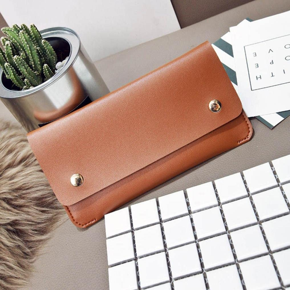 Large and Long Fashion Leather Wallet for Women and ladies K