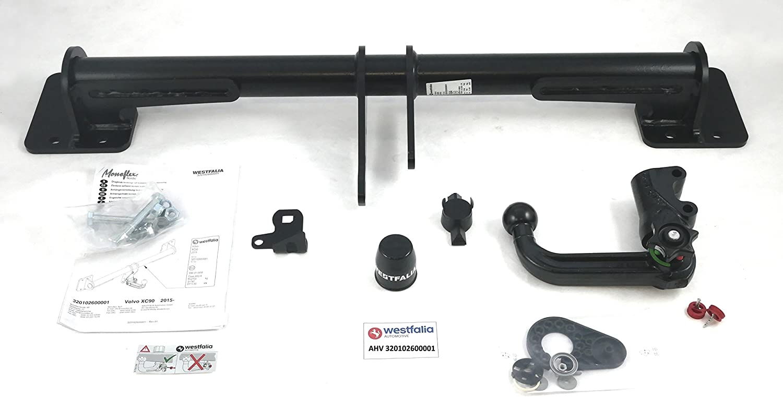 06//2015 Onwards AHK for Volvo XC 90 II Westfalia-Automotive 320102600001 Detachable Tow Bar