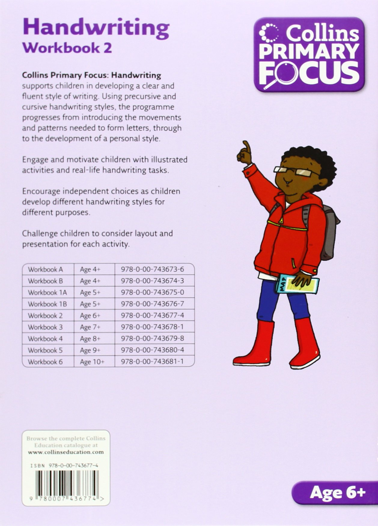 Workbook 6: Handwriting (Collins Primary Focus)