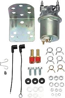 amazon com holley 712 8011 red electric marine fuel pump automotivecarter p4070 in line electric fuel pump