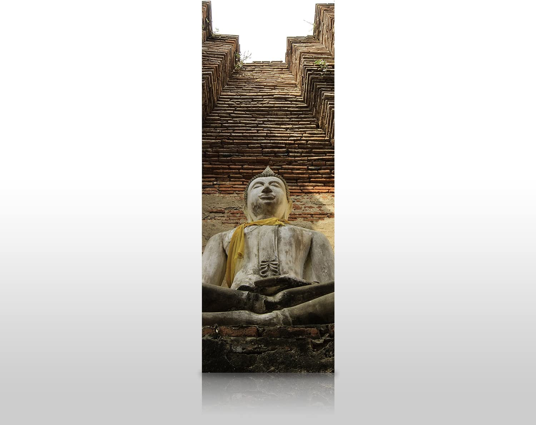 wandmotiv24 Cubierta Trasera de Ducha Una Gran Estatua de Buda 100 ...