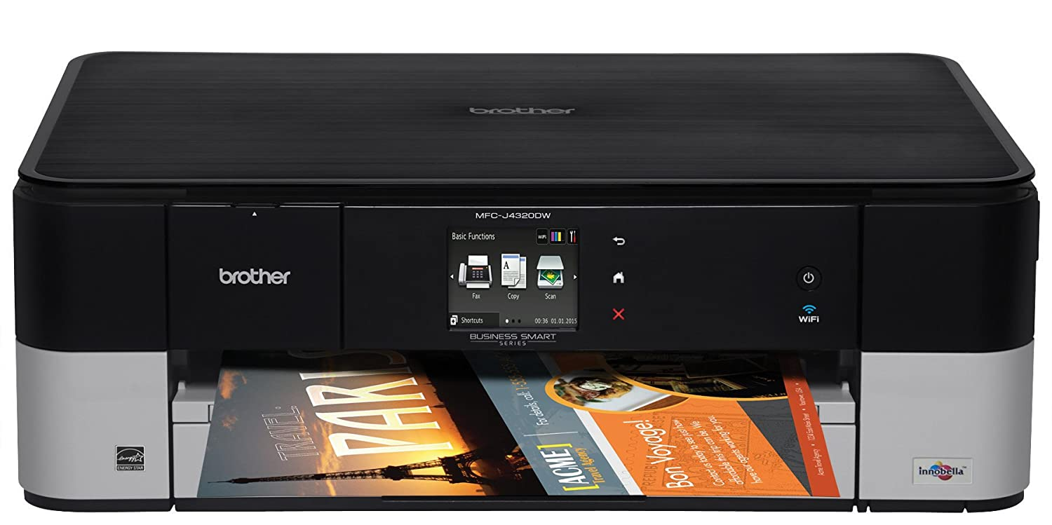 Brother MFCJ4320DW Business Wireless Colour Inkjet 4-IN-1 Brother Canada - CE