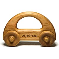 Wooden Toy Car, Toddler Toy, Personalized Wood Toy Car, Personalized Toy Gift, Baby Shower Gift, Nursery Decor