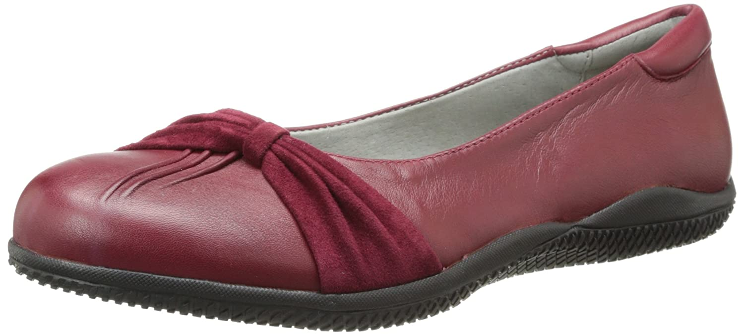 SoftWalk Women's Haverhill Ballet Flat B00HQQJU52 9 C/D US|Dark Red